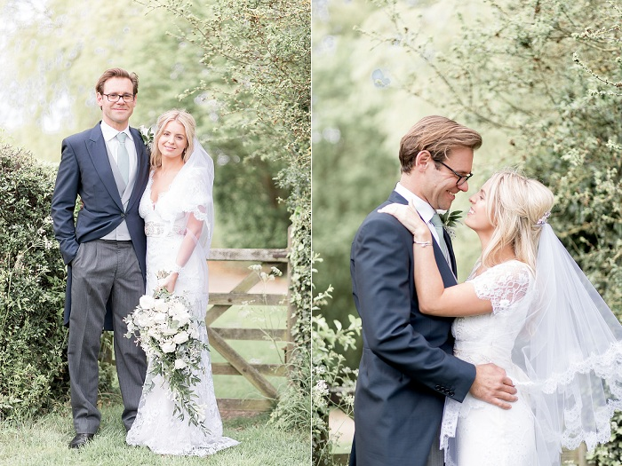 Emily Jonathans Classic Romantic Wedding In Northumberland